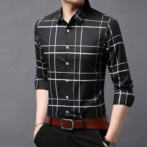 Áo sơ mi nam thời trang - vải lụa 3d cao cấp không nhăn không xù - 11887844 , 19430104 , 15_19430104 , 350000 , Ao-so-mi-nam-thoi-trang-vai-lua-3d-cao-cap-khong-nhan-khong-xu-15_19430104 , sendo.vn , Áo sơ mi nam thời trang - vải lụa 3d cao cấp không nhăn không xù
