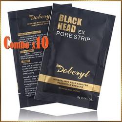 [10 Miếng ] Mặt nạ lột mụn cám, mụn đầu đen Doberyl GD4 hiệu quả, em nhẹ.