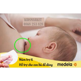 Núm Trợ Ti MEDELA Cao Cấp, Núm trợ ti cho mẹ và bé, Núm trợ ti cho bé, Núm trợ ti an toàn, NúmTrợ ti ngực silicone mềm cho Mẹ hỗ trợ cho bé bú - NTT thumbnail