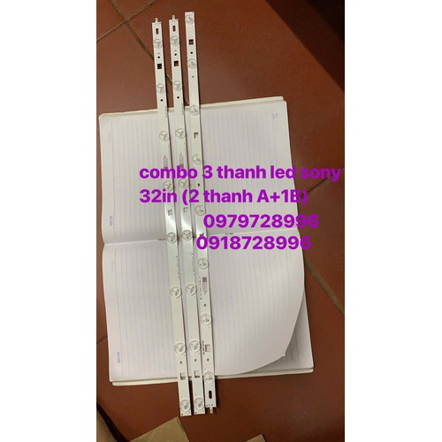 Combo 3 thanh led tivi sony 32in - 11898426 , 19447116 , 15_19447116 , 250000 , Combo-3-thanh-led-tivi-sony-32in-15_19447116 , sendo.vn , Combo 3 thanh led tivi sony 32in