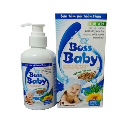 Sữa tắm gội toàn thân cho bé Boss Baby 200ml - 11669929 , 19448543 , 15_19448543 , 189000 , Sua-tam-goi-toan-than-cho-be-Boss-Baby-200ml-15_19448543 , sendo.vn , Sữa tắm gội toàn thân cho bé Boss Baby 200ml