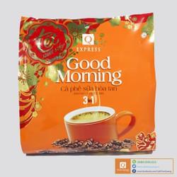 Combo 4 Bịch Cafe Sữa Hoà Tan Cao Cấp Trần Quang 24 gói x 20gr