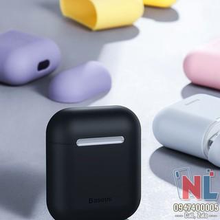 Ốp bảo vệ Airpods Baseus silicon siêu mỏng - alopk2596 thumbnail