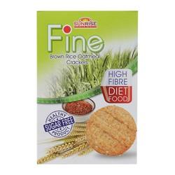 Bánh ăn kiêng Fine gạo lứt hộp 178g