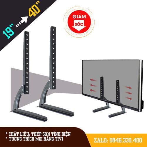 Chân đế tivi đa năng 17 - 40 inch - phù hợp mọi hãng tivi