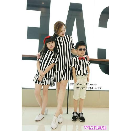 Sét đầm đôi cho mẹ và bé gái - 11906104 , 19459168 , 15_19459168 , 420000 , Set-dam-doi-cho-me-va-be-gai-15_19459168 , sendo.vn , Sét đầm đôi cho mẹ và bé gái