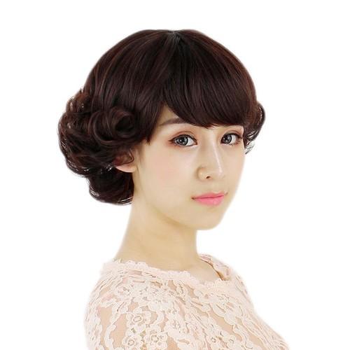 Tóc giả nữ trung niên cao cấp tặng kèm lưới trùm tóc - 11894585 , 19440774 , 15_19440774 , 295000 , Toc-gia-nu-trung-nien-cao-cap-tang-kem-luoi-trum-toc-15_19440774 , sendo.vn , Tóc giả nữ trung niên cao cấp tặng kèm lưới trùm tóc