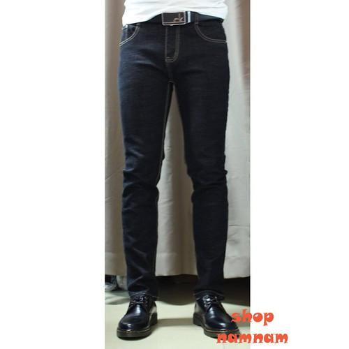 Quần jeans nam đen