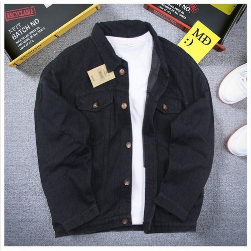 Áo khoác unisex nam bm264, from chuẩn bán shop black moon chuyên áo dài tay