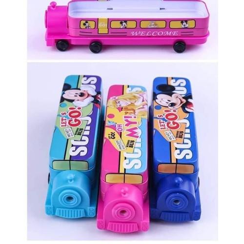 Hộp bút xe bus 2 tầng