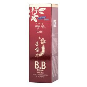 [Freeship] Kem Nền BB Cream Hồng Sâm Đỏ My Gold SPF45 Pa++ 40ml - Chính hãng - BBRed-3