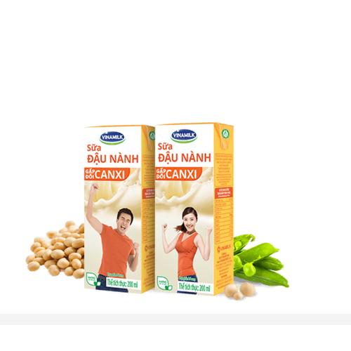 Lốc 4 hộp sữa đậu nành 180ml