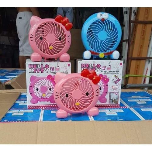 Quạt tích điện cầm tay kitty và doremon - 11908401 , 19462387 , 15_19462387 , 149000 , Quat-tich-dien-cam-tay-kitty-va-doremon-15_19462387 , sendo.vn , Quạt tích điện cầm tay kitty và doremon