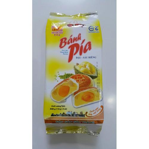 Bánh pía đậu sầu riêng trứng 440g