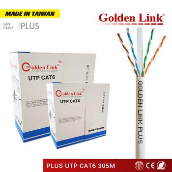 siÊu thi thiẾt bỊ viỄn thÔng: cÁp mẠng golden link plus utp cat 5e 305m  trẮng viỀn xanh made in taiwan - gl01010 | sendo vn
