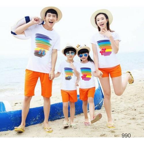 Set quần áo đi biển cho gia đình, nhóm đẹp