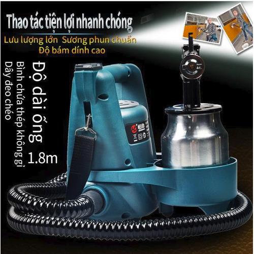 Máy phun sơn điện cao áp đa năng 800w hd3010 hàng nhập khẩu