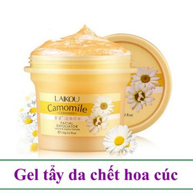 Gel tẩy da chết hoa cúc 120g Laikou Camomile - AM0003