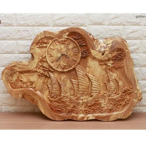 Đồng hồ gỗ treo tường nu nghiến siêu bền - 11899249 , 19448623 , 15_19448623 , 4000000 , Dong-ho-go-treo-tuong-nu-nghien-sieu-ben-15_19448623 , sendo.vn , Đồng hồ gỗ treo tường nu nghiến siêu bền