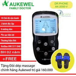 Máy Massage xung điện thương hiệu Đức Aukewel Dr Phone AK-2000-V