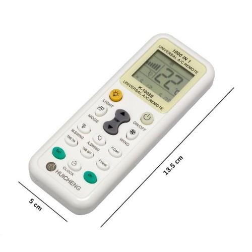 Bộ điều khiển máy lạnh đa năng huicheng k-1028e tích hợp mã của 1000 thiết bị