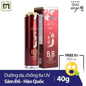 [Freeship] Kem Nền BB Cream Hồng Sâm Đỏ My Gold SPF45 Pa++ 40ml - Chính hãng - BBRed