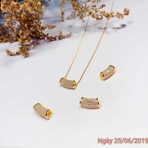 Dây chuyền lu thống bạc phủ vàng