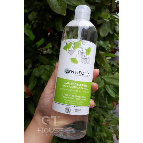 Nước tẩy trang rau má centifolia micellar water