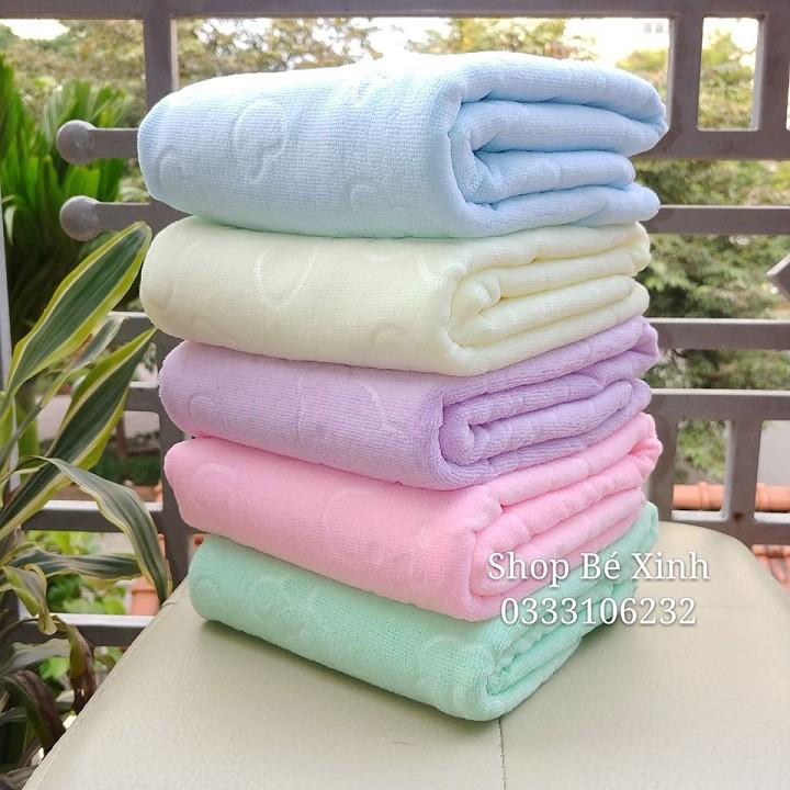 Combo 4 khăn tắm khổ to 140x70cm