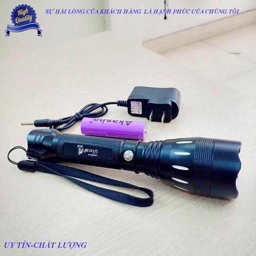 Đèn pin siêu sáng hy-8028 kèm sạc pin