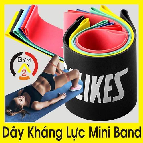 Bộ 6 dây kháng lực mini band, dây cao su miniband tập chân mông, phụ kiện tập gym - 11925102 , 19485458 , 15_19485458 , 389000 , Bo-6-day-khang-luc-mini-band-day-cao-su-miniband-tap-chan-mong-phu-kien-tap-gym-15_19485458 , sendo.vn , Bộ 6 dây kháng lực mini band, dây cao su miniband tập chân mông, phụ kiện tập gym