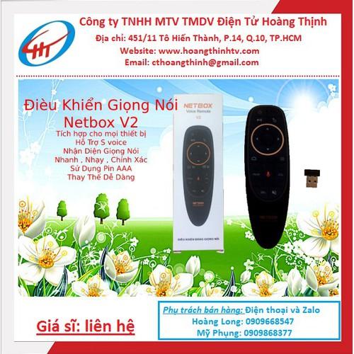 Điều khiển giọng nói netbox v2