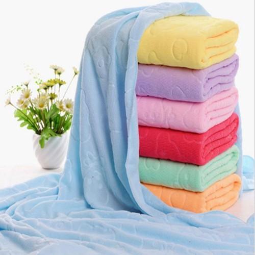 Combo 2 khăn tắm xuất nhật mềm mịn 140 x 70 cm