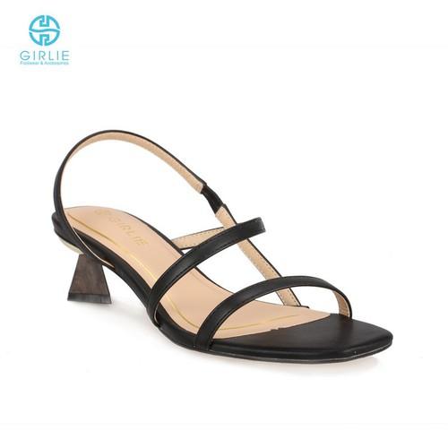 Giày sandals cao gót dây mảnh girlie s21029