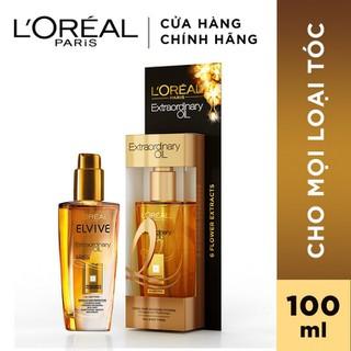 Dầu dưỡng chiết xuất tinh dầu hoa tự nhiên L Oreal Paris Elseve Extraordinary Oil Ultra Nourishing 100ml - 4992944111576 thumbnail