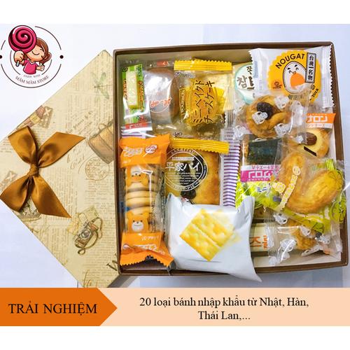 Combo 20 loại bánh kẹo nhập khẩu nhật bản, hàn quốc, thái lan, bánh kẹo nhập khẩu ngon - 11916504 , 19473372 , 15_19473372 , 229000 , Combo-20-loai-banh-keo-nhap-khau-nhat-ban-han-quoc-thai-lan-banh-keo-nhap-khau-ngon-15_19473372 , sendo.vn , Combo 20 loại bánh kẹo nhập khẩu nhật bản, hàn quốc, thái lan, bánh kẹo nhập khẩu ngon