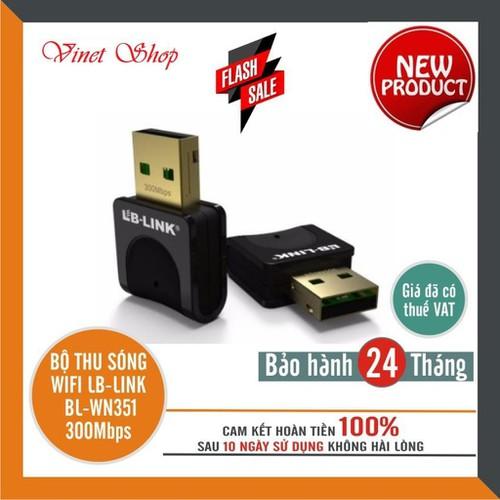 Bộ thu sóng Wifi LB Link BL WN351 300Mbps Chính hãng bảo hành 24 tháng - 11669974 , 19471035 , 15_19471035 , 88000 , Bo-thu-song-Wifi-LB-Link-BL-WN351-300Mbps-Chinh-hang-bao-hanh-24-thang-15_19471035 , sendo.vn , Bộ thu sóng Wifi LB Link BL WN351 300Mbps Chính hãng bảo hành 24 tháng