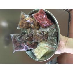 combo nguyên liệu nấu chè dưỡng nhan 20 chai