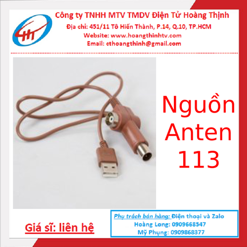 Nguồn rời cho anten 113