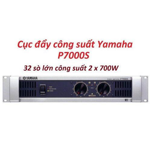 Cục đẩy công suất 32 sò yamaha p7000s - main power