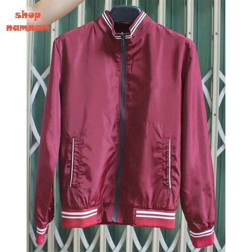 Áo khoác nam màu đỏ