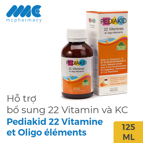 Pediakid 22 Vitamine et Oligo éléments bổ sung 22 Vitamin và khoáng chất cho bé - 11832973 , 19482447 , 15_19482447 , 315000 , Pediakid-22-Vitamine-et-Oligo-elements-bo-sung-22-Vitamin-va-khoang-chat-cho-be-15_19482447 , sendo.vn , Pediakid 22 Vitamine et Oligo éléments bổ sung 22 Vitamin và khoáng chất cho bé