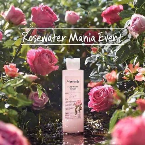 Nước hoa hồng toner mamonde