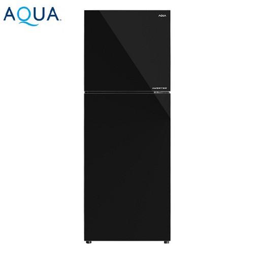 Tủ lạnh inverter aqua aqr-ig356dn-gbn 318l - hàng chính hãng
