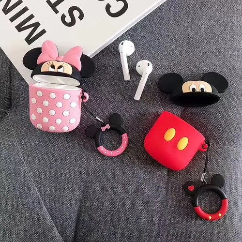 Bao bảo vệ tai nghe apple airpods mickey mouse