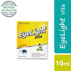 Thuốc nhỏ mắt EyeLight Vita - Dùng Cho Mỏi Mắt, Ngứa Mắt, Chảy Nước Mắt, Đỏ Mắt, Khô Mắt