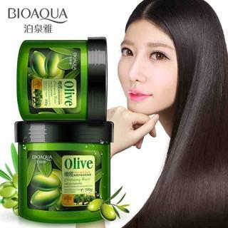 Dầu xả Olive Bioaqua hũ 500gr - KBA044 thumbnail
