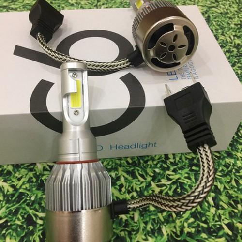 Ddenf led c6 2 tim - đèn led - đèn pha led - đèn pha led xe máy