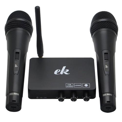 Micro mixer karaoke uhf ek mixer
