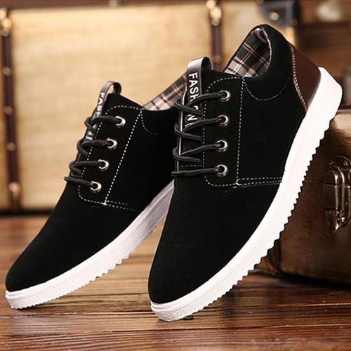 Giày sneaker thể thao nam- tặng 01 đôi tất nam chống mùi hôi chân